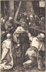 385px-Albrecht_Dürer_-_Christ_Carrying_the_Cross_(NGA_1941.3.3)